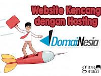 Website Kencang dengan Hosting DomaiNesia 2020