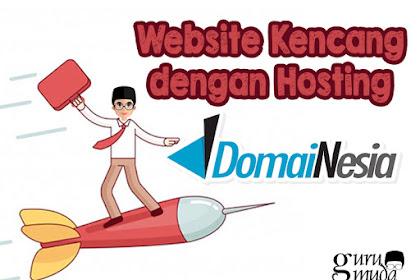 Website Kencang dengan Hosting DomaiNesia
