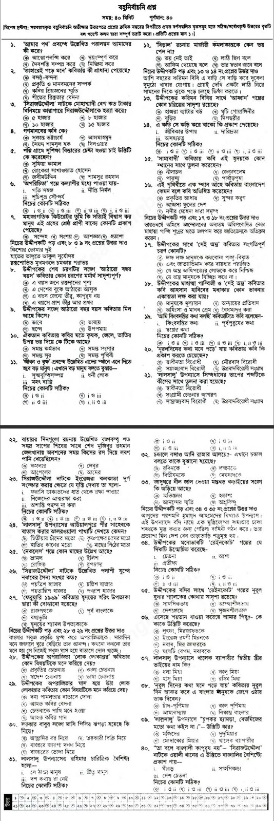Hsc Bangla 1st Paper Suggetion 2020 | Hsc Bangla 1st Paper Question and Suggetion 2020