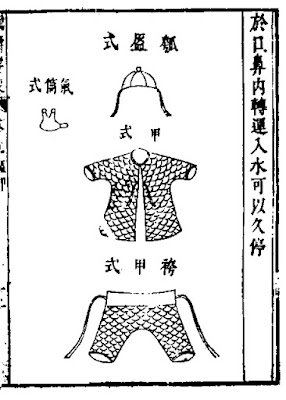 Ming Chinese Rattan Scale Armour