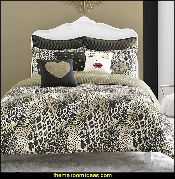 Betsey Johnson Wild Thing Comforter Set