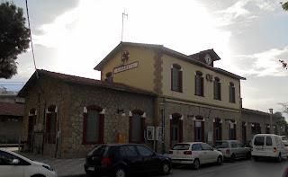 Σιδηροδρομικός Σταθμός στην Καλαμάτα