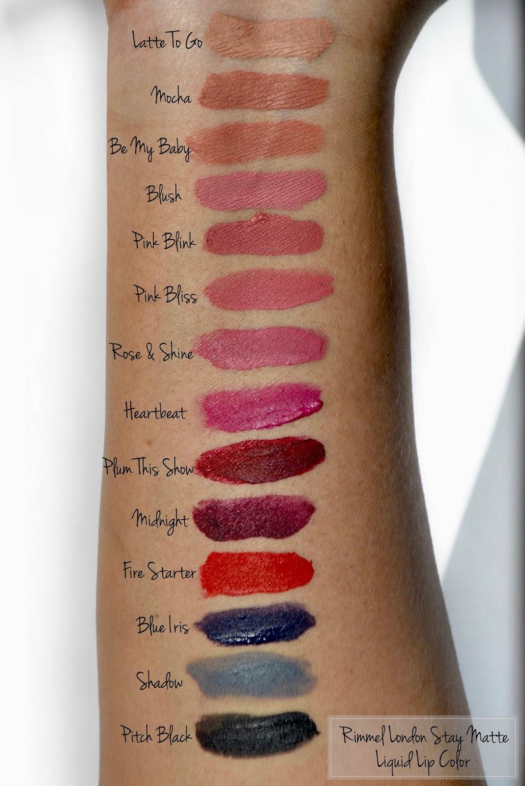 Rimmel London Stay Matte Liquid Lip Colour Review -8942
