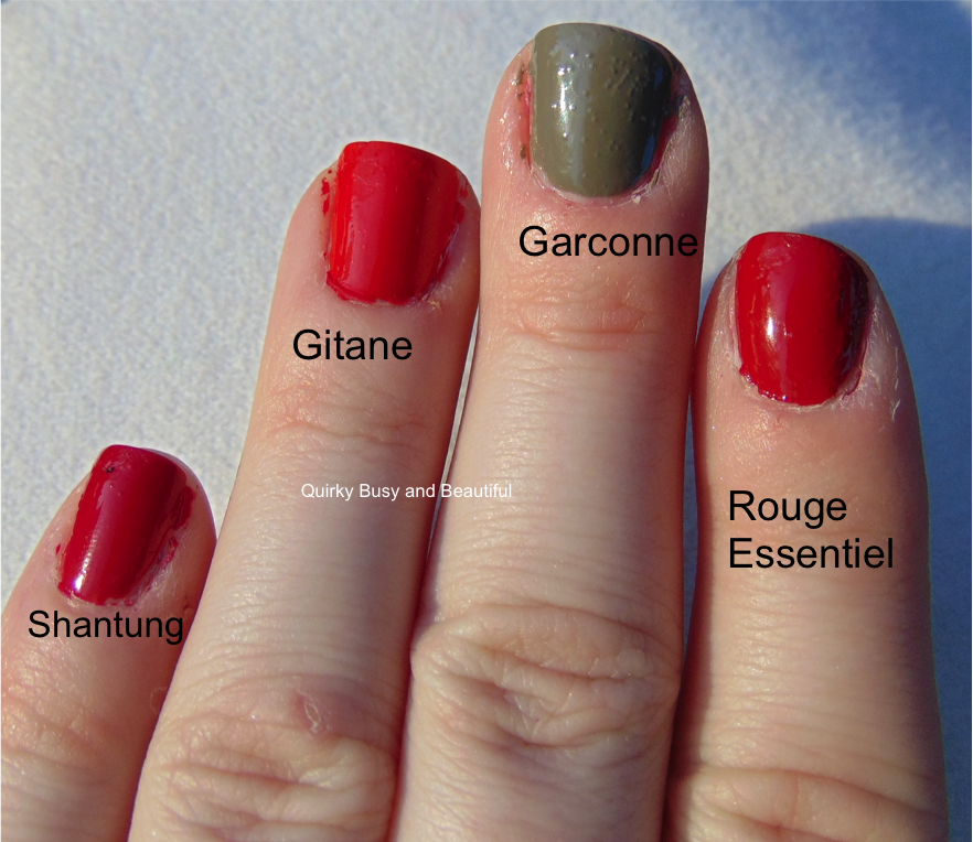 Quirky, Busy, and Beautiful: Swatch Alert: All New Shades of Chanel ...