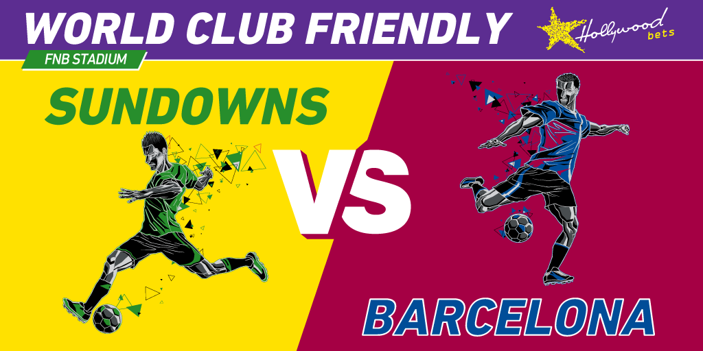 Mamelodi Sundowns vs Barcelona - World Club Friendly - FNB Stadium - Hollywoodbts