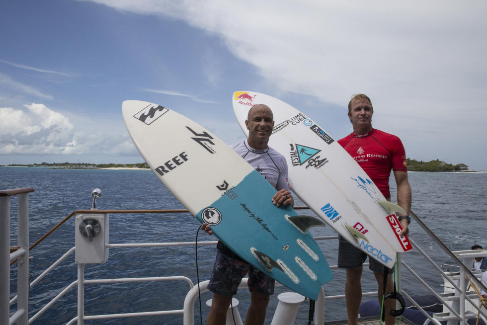 13 shane Jamie Four Seasons Maldives Surfing Champions Trophy foto WSL Sean Scott