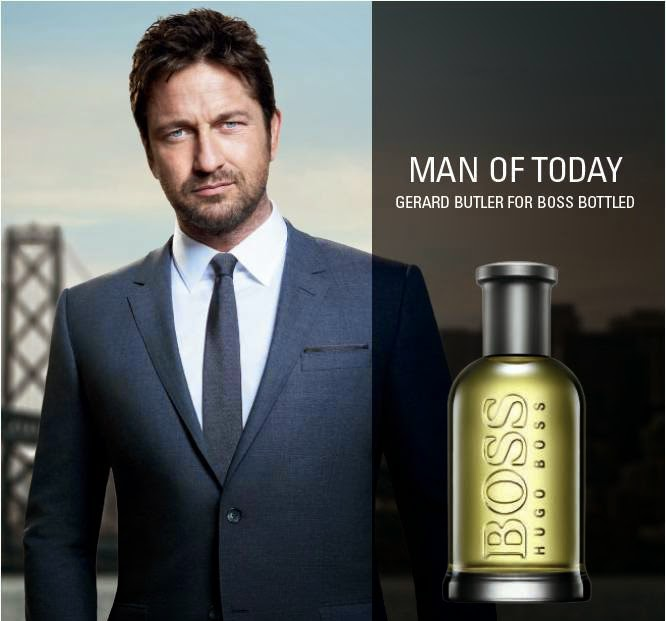 Gerald Butler, Man of Today, Hugo Boss, Boss Bottled, Men's Fragrance, Fragrance, Fragrance World, Hugo Boss Ambassador
