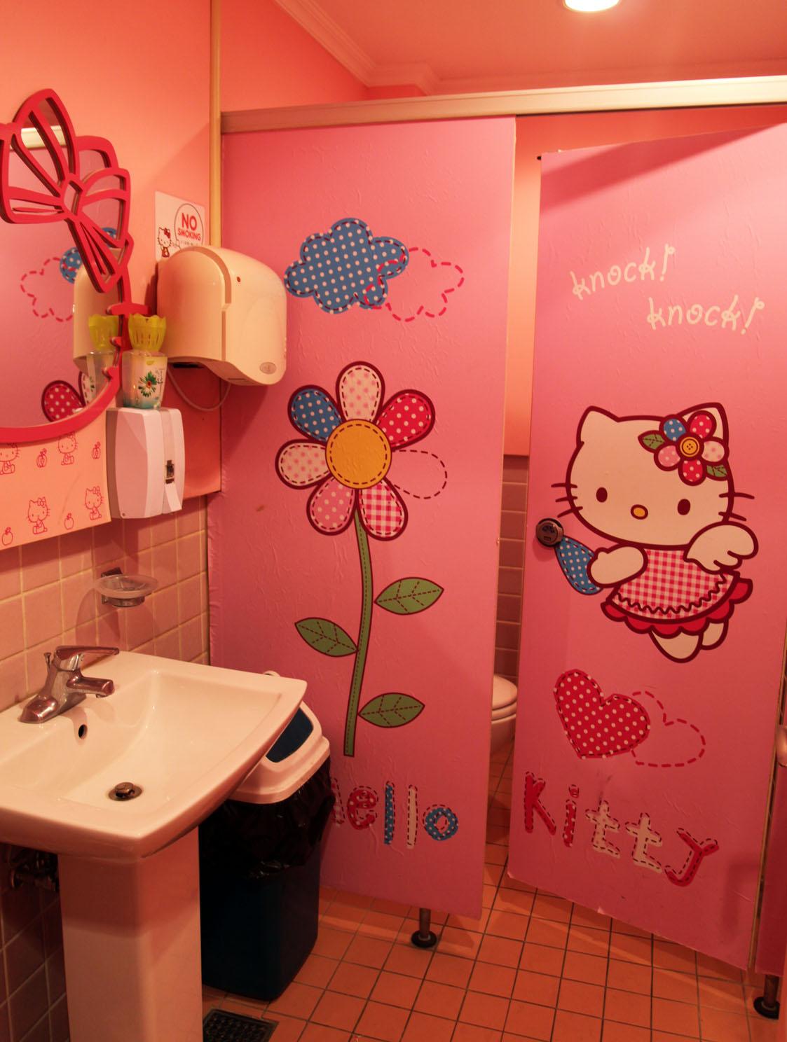 Hello Kitty Bathroom Home Design Plan