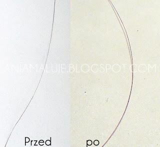 henna a grubość włosa przed i po