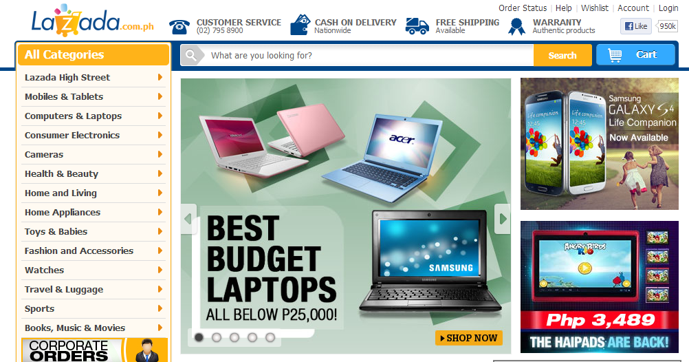 Lazada: Philippines' Online Shopping Mall: Lazada Online