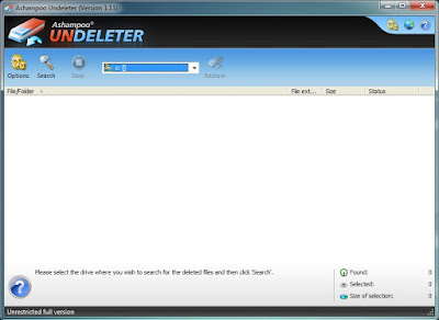 delete files data recovery software