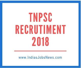 TNPSC Notification 2018