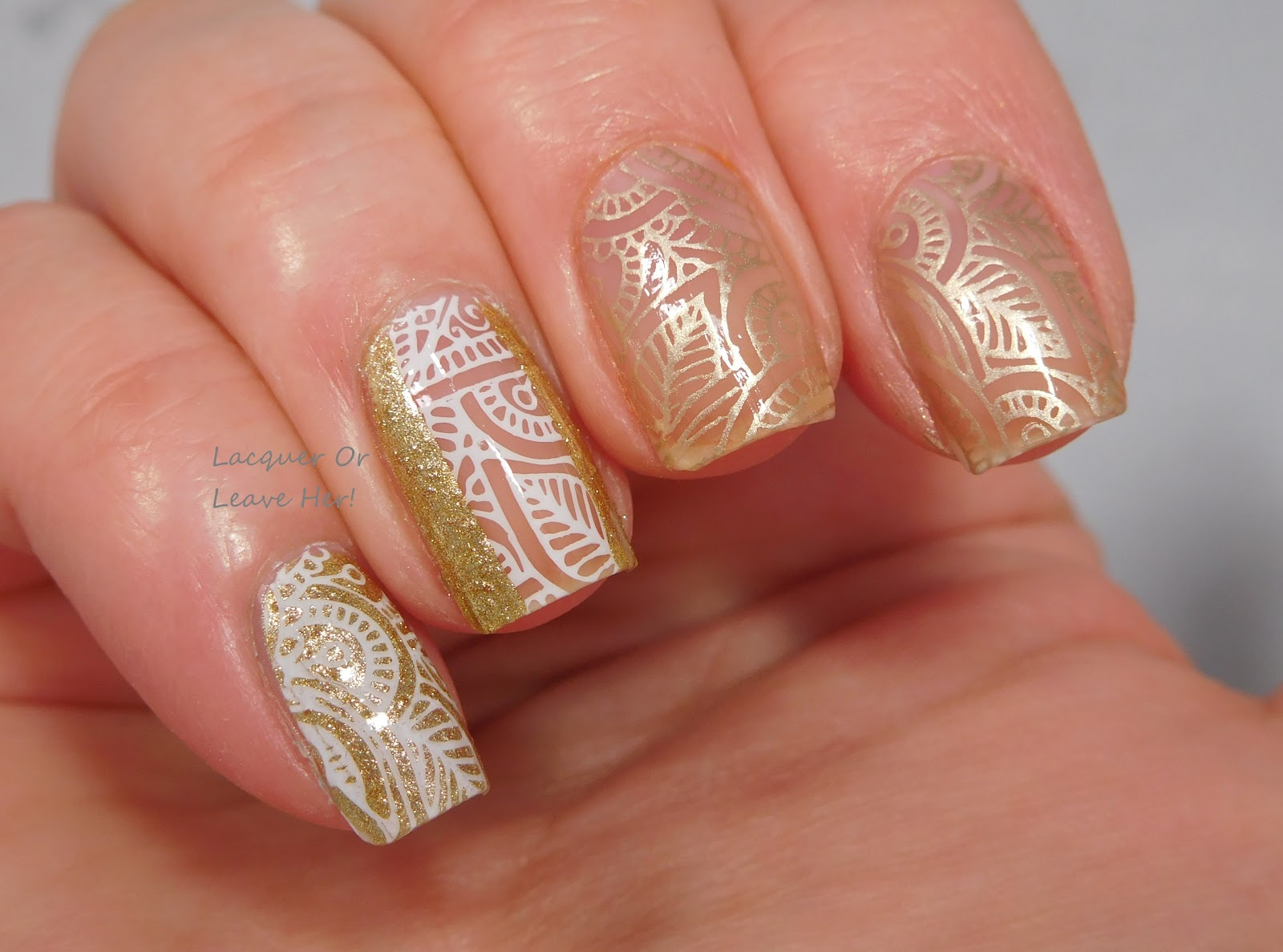 Lacquer Or Leave Her Review Winstonia Wisdom Of Henna Plate