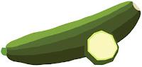zucchini clipart