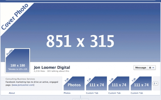 Facebook TimeLine and Profile Pic Size/Dimensions ...