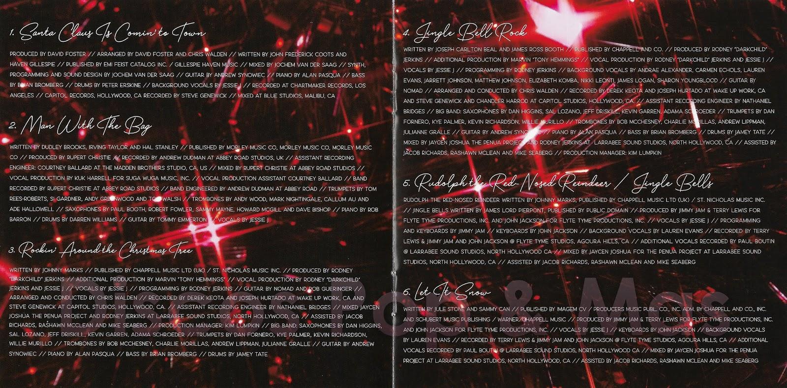 Jessie J This Christmas Day.Discos Pop Mas Jessie J This Christmas Day