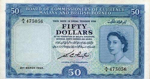 50 dollars malaya
