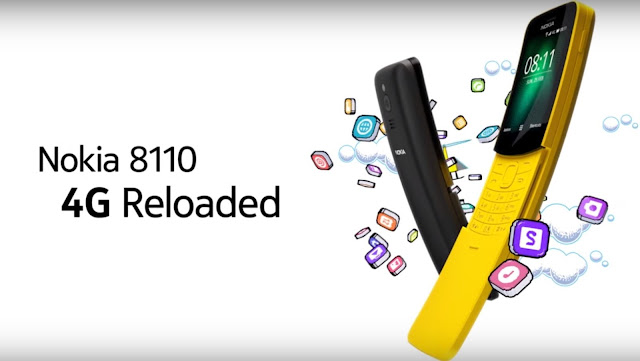 Το Nokia 8110 DS στα 58,99€ με WhatsApp - YouTube - Google maps και 4G WiFi Hotspot