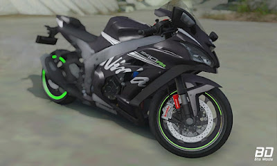 Download mod moto , Kawasaki ZX-10RR 2017 para GTA San Andreas, GTA SA Jogo PC