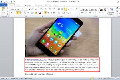Cara Mengatur Spasi Yang Berantakan Di Microsoft Word Semua Versi
