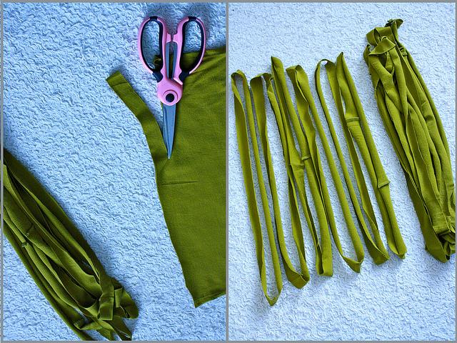 HandMadera: No-sew shirt scarf & necklace DIY