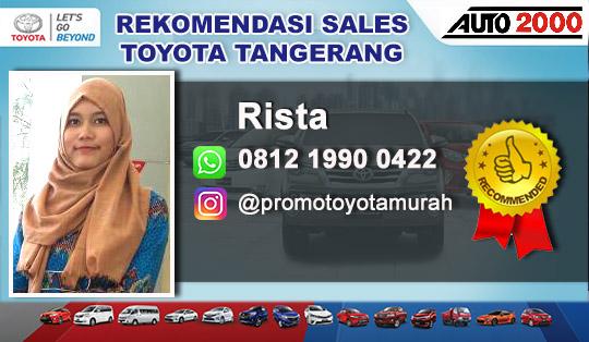 Rekomendasi Sales Toyota Auto 2000 Bintaro Tangerang