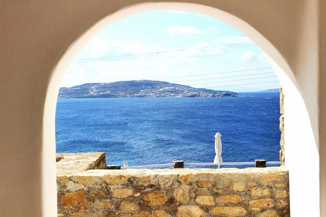 Mykonos hotels with the best sea view