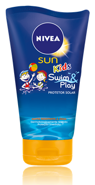 Protetor Solar Nivea Sun Kids Swim & Play