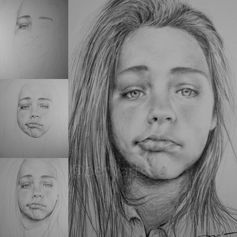 12-Benyarts-Expressions-and-Feelings-in-Graphite-Drawings