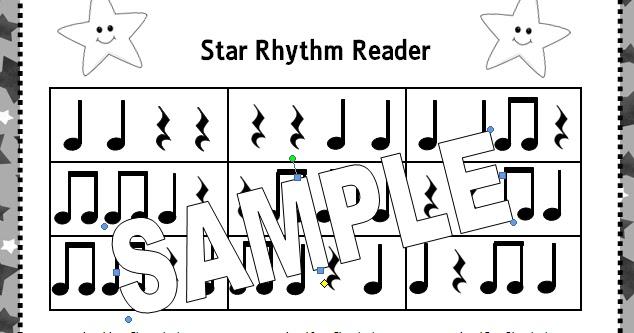 The Sweetest Melody: Star Rhythm Readers