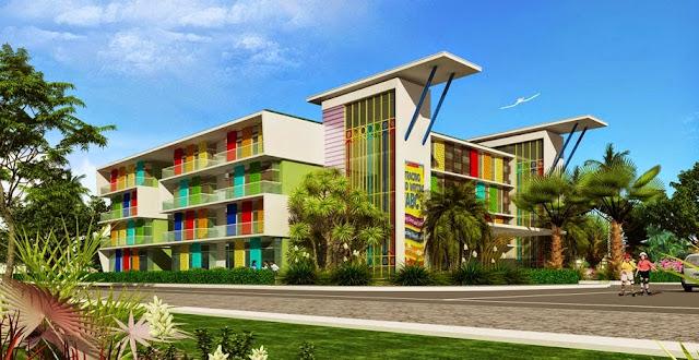 Trường học tại dự án Louis City Đại Mỗ