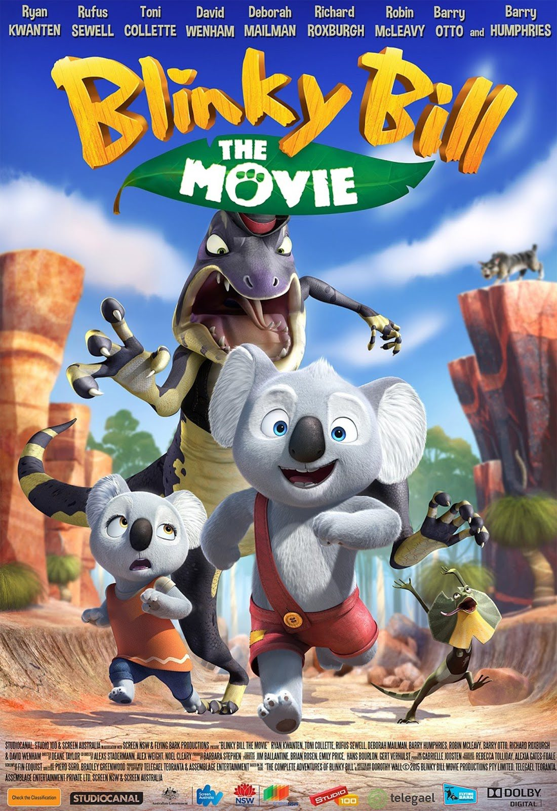 ver Blinky Bill, el koala 2017