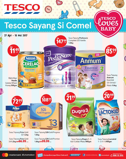 Tesco Malaysia Baby Fair Discount Offer Promo Catalog