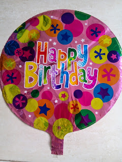 Balon Foil Dekorasi Happy Birthday