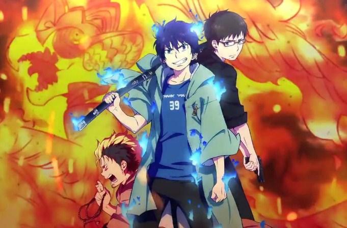 Anime Yang Pertama Ini Adalah Ao No Exorcist 2 Juga Merupakan Terbaik Dan Ditunggu Tunggu Tahun Exoricist