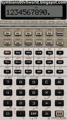 calculatrice scientifique pour nokia n97 mini