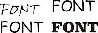 Font atau abjad merupakan salah satu bentuk  Situs penyedia abjad (font) gratis