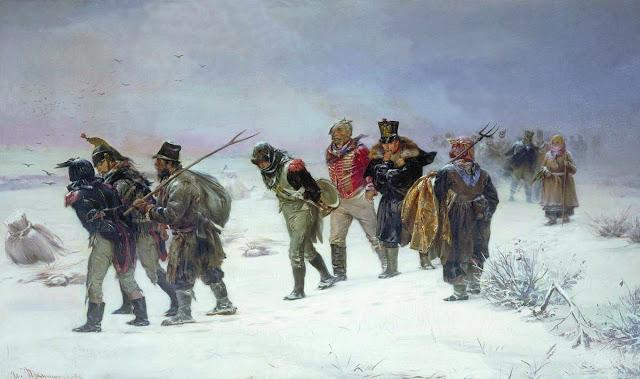 LACN-La retraite des Français par Illarion Pryanishnikov (1874)