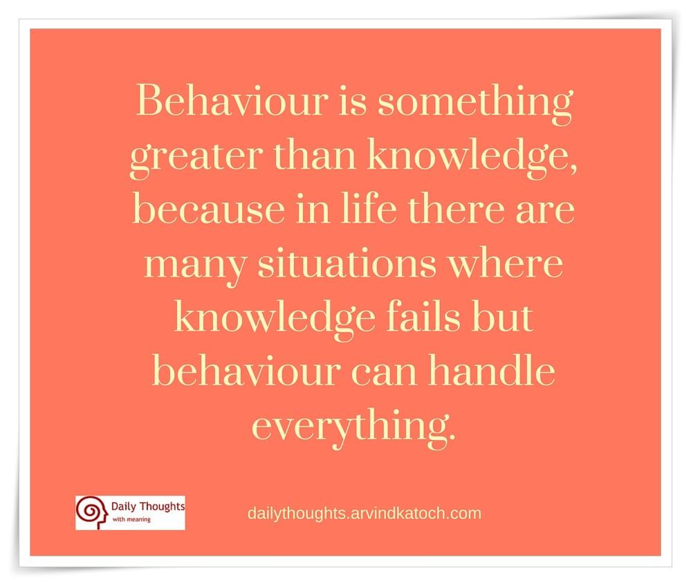 behaviour meaning