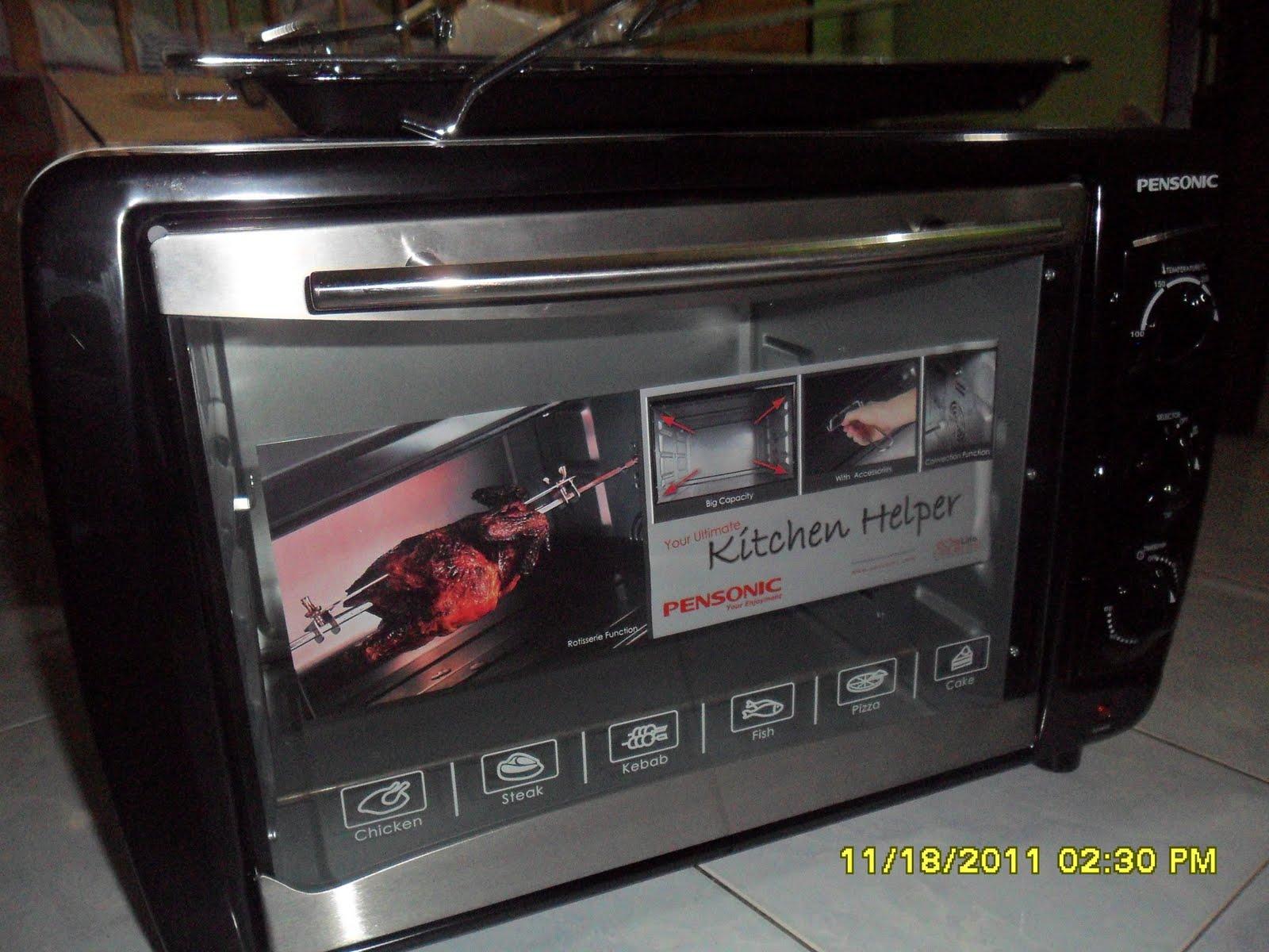 Deli Sweetsour: Dapat Oven Baru