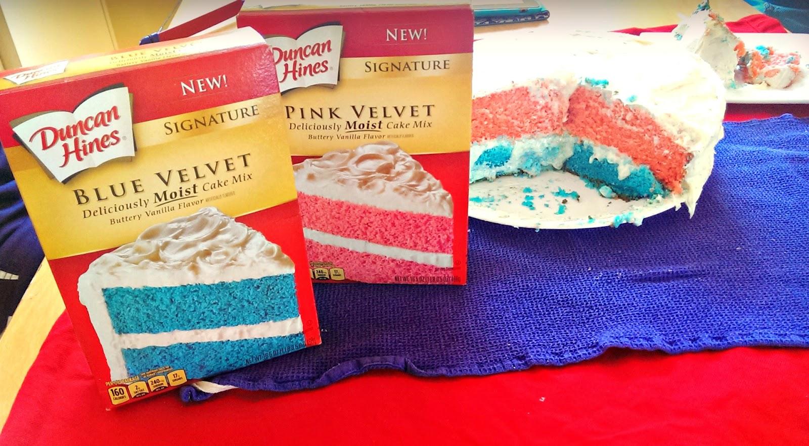 Duncan Hines Pink Velvet Cake