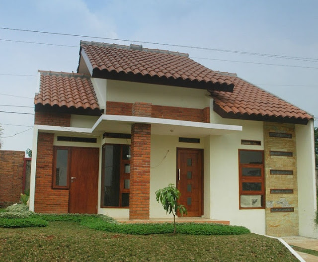 rumah kampung sangat sederhana