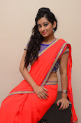 tejaswini sizzling photos in saree-thumbnail-13