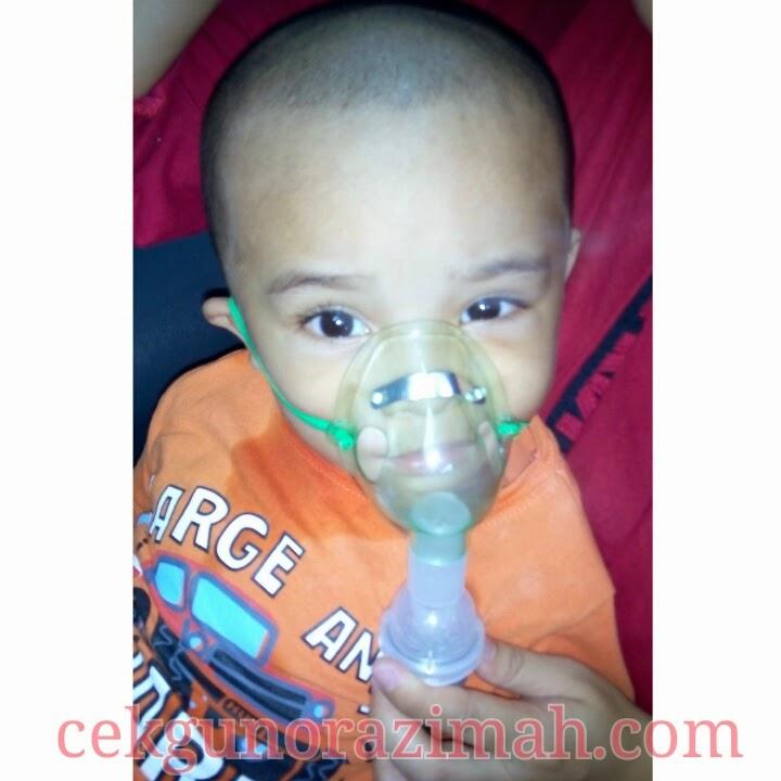 bahaya batuk kepada kanak-kanak