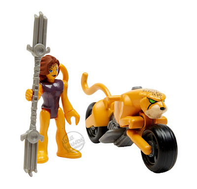 Mattel Imaginext Wonder Woman Toy Line Cheetah
