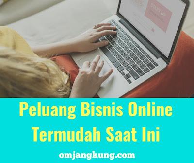 Peluang bisnis online paling mudah