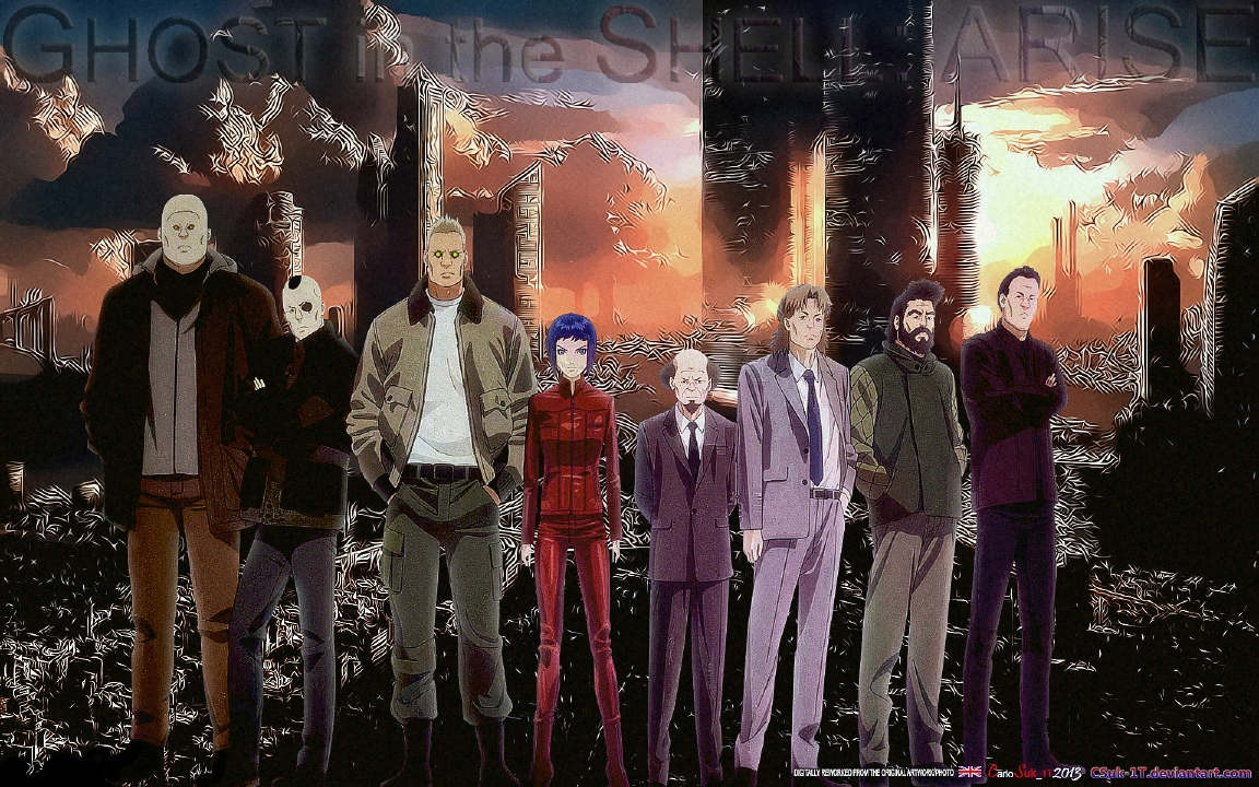 Ghost in the Shell: Arise – Alternative Architecture BD Subtitle Indonesia Batch