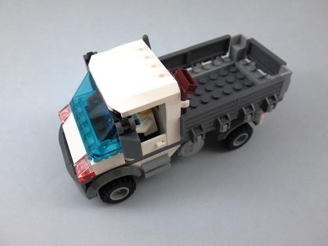 MOD da carrinha do set LEGO 60073 Service Truck