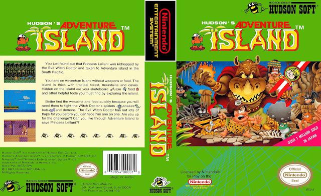 Capa Adventure Island NES