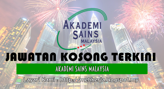 Jawatan Kosong Terkini 2016 di Akademi Sains Malaysia